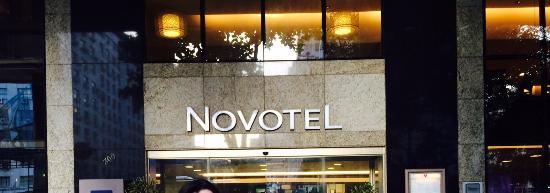 Hotel Novotel Rio De Janeiro Santos Dumont: Fachada do hotel