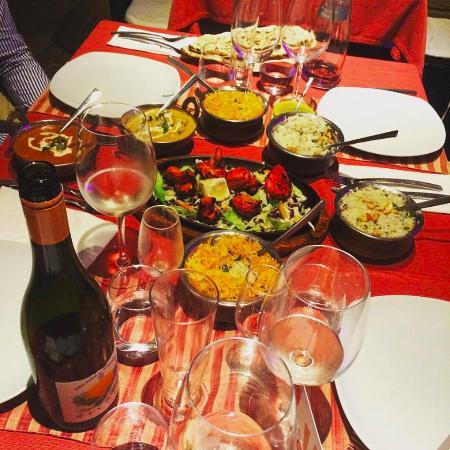 Main Course - Picture of Sharma Ethnic Cuisines, Saint Julian\'s ...