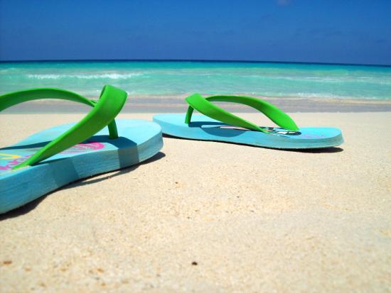 Jaz Almaza Beach Resort: ma che mare
