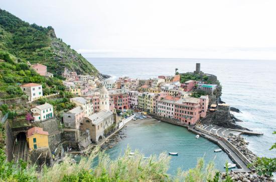 Vernazza, Italie : Panorama