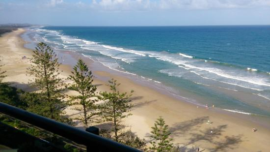 Clubb Coolum Beach: View from balcony