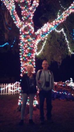 Parrish, FL: Light dispaly at North Pole