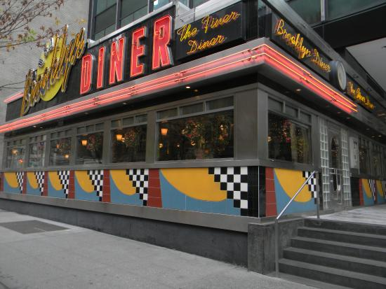 brooklyn diner west 57th street new york picture of brooklyn diner new york city tripadvisor. Black Bedroom Furniture Sets. Home Design Ideas