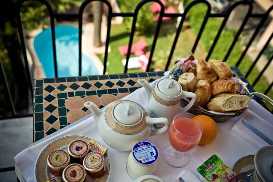 Sun Riviera Hotel: terrasse chambre privilège