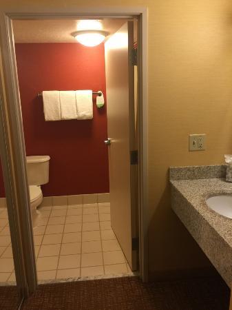 Courtyard Salt Lake City Airport: Bathroom