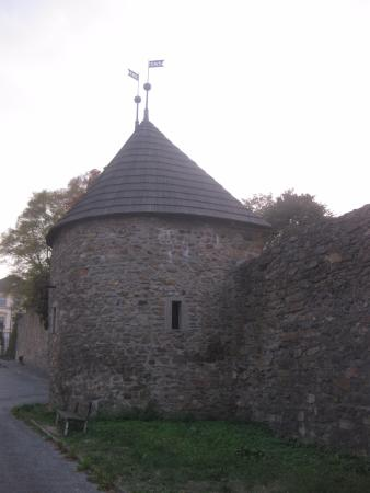 Klatovy, Tschechien: Walls