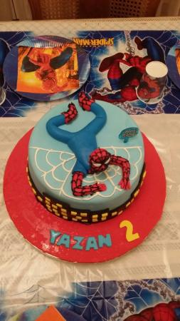 My sons birthday cake Picture of Rawan Cake Amman TripAdvisor