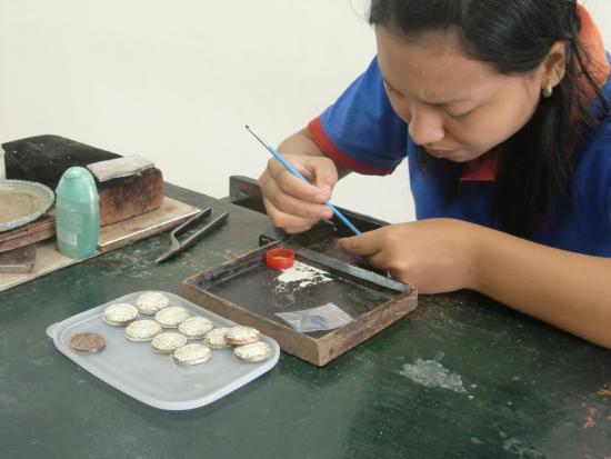 Celuk, Indonesien: バリのシルバー作り