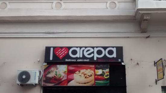 I Love Arepa