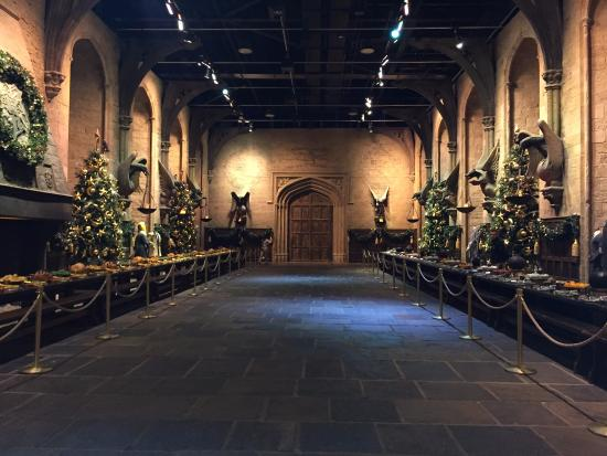 Studio Tour London The Making Of Harry Potter Great Hall