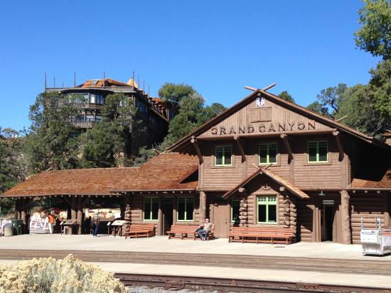 Grand Canyon Village Station - Picture of El Tovar Hotel, Grand Canyon  National Park - Tripadvisor
