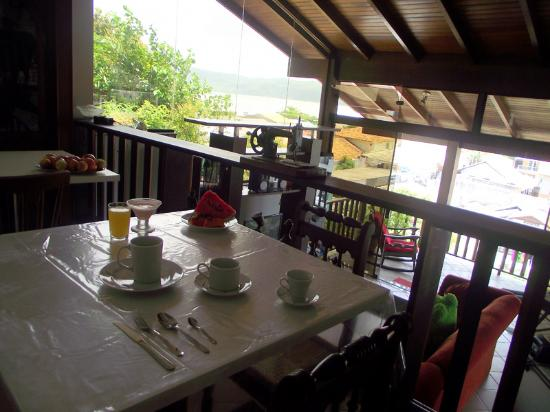 Pousada Al Mare: Tomar café da manhã vendo o mar,não há comparações!