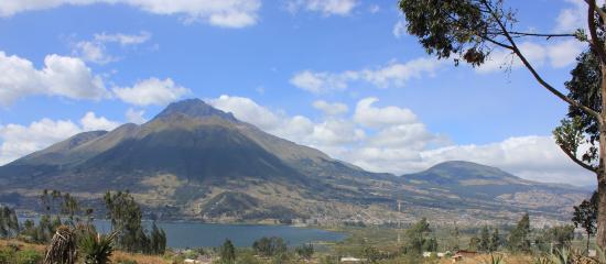 San Pablo Del Lago, Ecuador: Vista del Lago de San Pablo