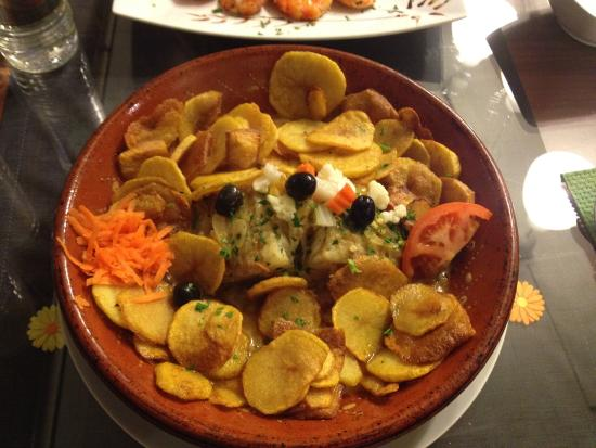 Grevenmacher, Luxembourg: bacalhau du chef