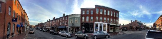 Newburyport, MA: Less than a block away.