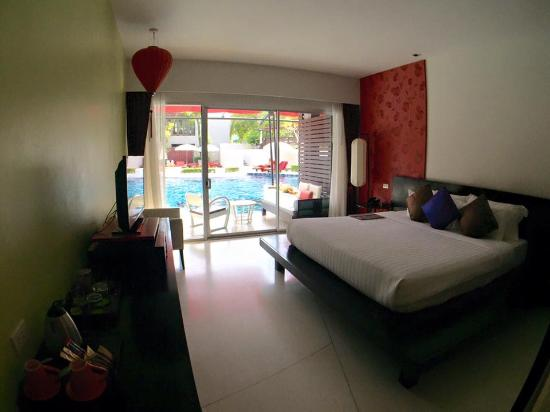 Red Ginger Chic Resort: spaciuos room