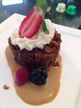 The Inn at Willow Grove: Bread pudding