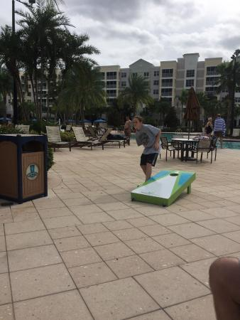 corn hole picture of bluegreen fountains resort orlando tripadvisor rh tripadvisor com