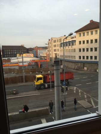 Motel One Nuernberg-Plaerrer: view from room 215