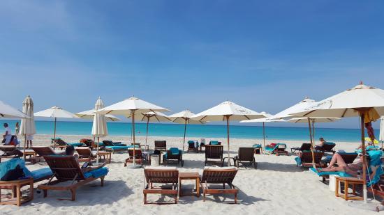 The St Regis Saadiyat Island Resort Abu Dhabi Beach Section