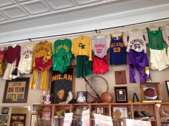 Milan u002754 Hoosiers Basketball Museum & The Top 5 Things to Do Near Ertel Cellars Winery Bistro Batesville