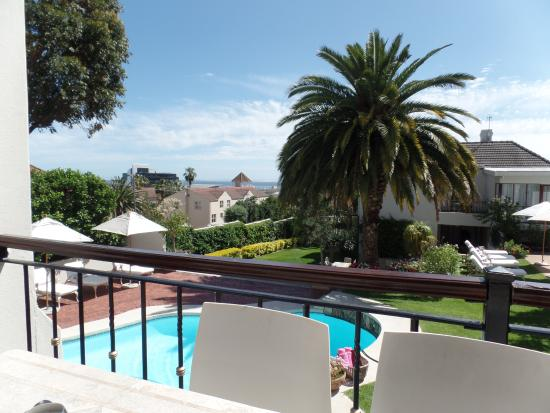 Fresnaye, Sudáfrica: Foto vanaf het gezamenlijk  balkon