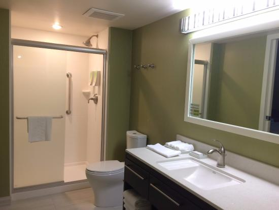 Bathroom picture of home2 suites by hilton anchorage for Bathroom remodel anchorage