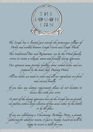The Lough Inn: About us