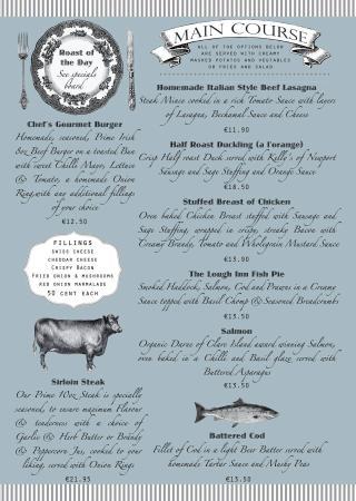 Claremorris, Ιρλανδία: All day menu