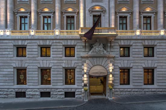 Aleph Hotel Rome: Hotel Aleph Entrance