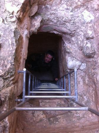 Riba de Saelices, ספרד: Atalaya musulmana, acceso a la torre, Riba de Saelices GU