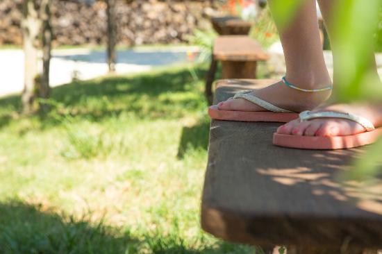 Sainte Nathalene, ฝรั่งเศส: flip flop time