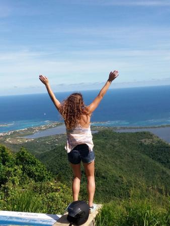 Oyster Pond, St. Maarten/St. Martin: Top of the World