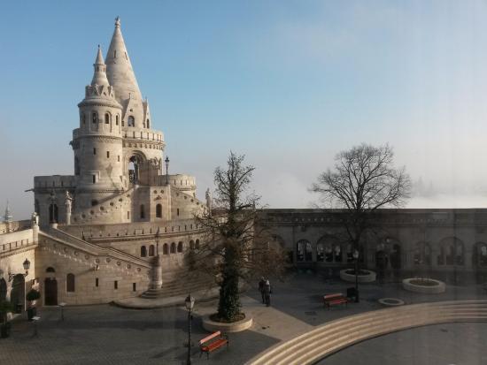Hilton Budapest: Вид из номера на 1 этаже
