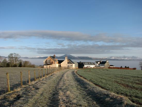 Kippen, UK: A walk in the fields