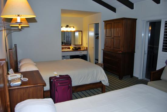 Olympia Lodge: Our room