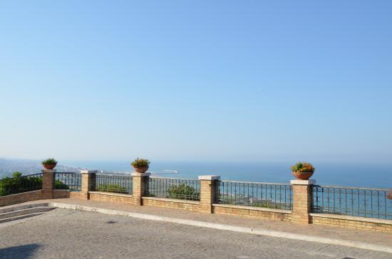 Torre di Palme, Italia: terrazza vista mare