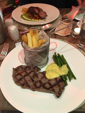 Pillars Restaurant: sirloin steak