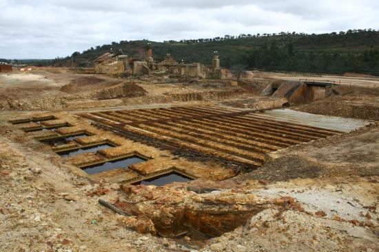 Aljustrel, โปรตุเกส: A mina a céu aberto