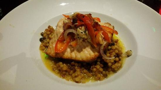 Hereford, AZ: Oregon Steelhead over Sardinian Couscous