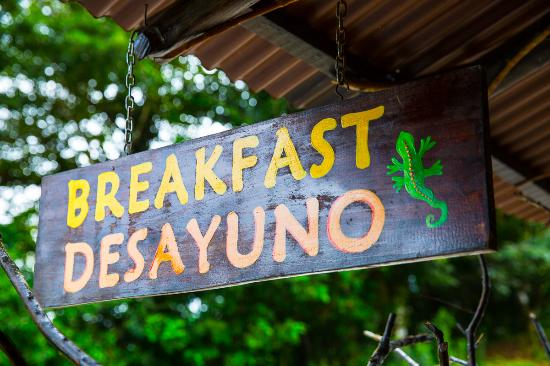 Gecko's Waterfall Grill: Breakfast
