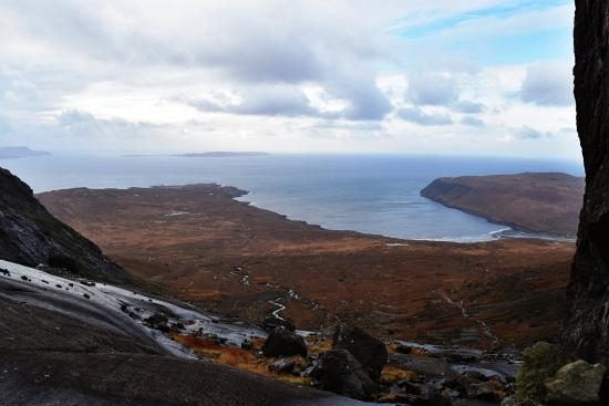 Coire Lagan: view from top