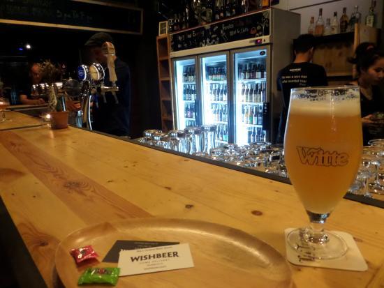 Wishbeer Home Bar U0026 Bottle Shop: Bar Area And Fridge Full Of Beers.