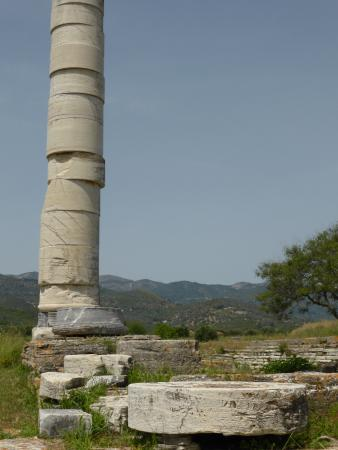 Temple of Hera, near Ireon - the column