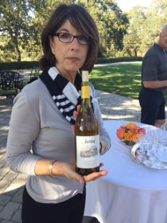 Jordan Vineyard & Winery: Excellant tour hostess!