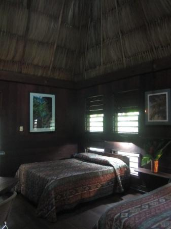 Our very comfortable palapa hut