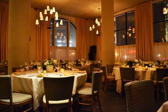 Mistral: the main dining room