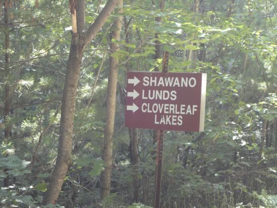 Wausau, WI: Trail sign