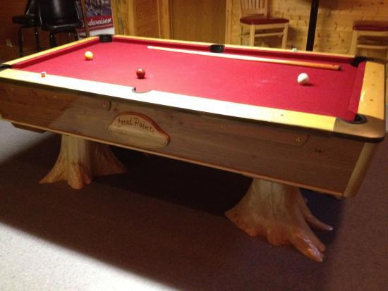 Lyndon Station, WI: custom pool table