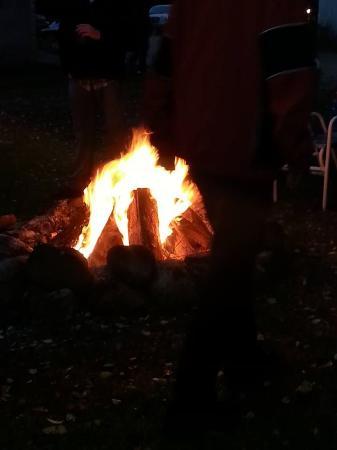 Lyndon Station, WI: Bonfire